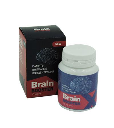BrainBoosterX - Таблетки для улучшения памяти, внимания, концентрации (БрэйнБустер)