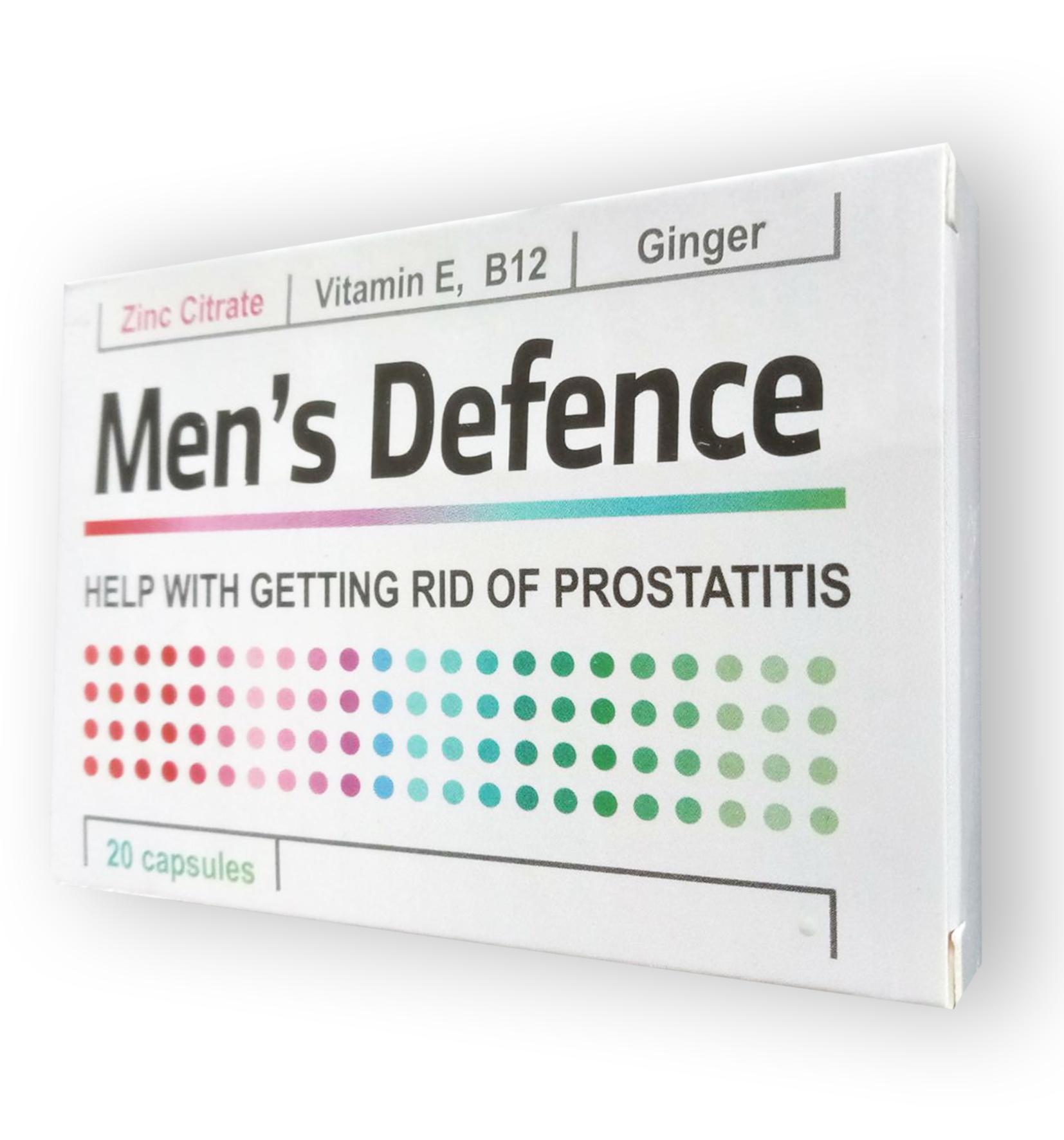 Men's Defence - Капсулы от простатита (Менс Дефенс) Men's Defence - Капсулы от простатита (Менс Дефенс)