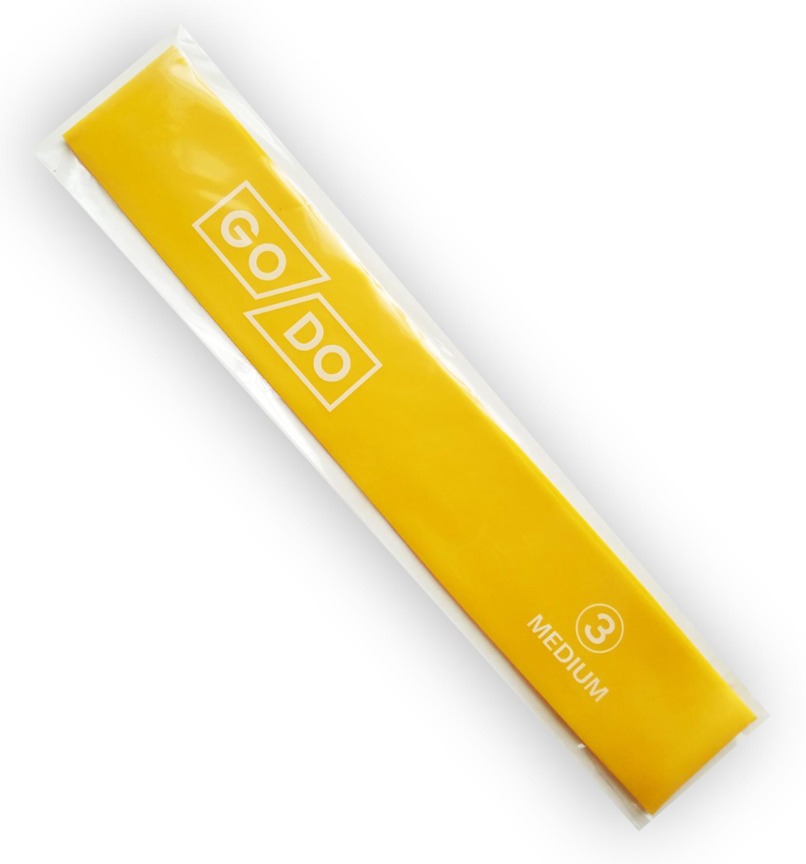 Go-Do - эспандер петля (жёлтая)