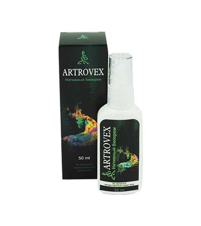 Artrovex - Нативный биокрем для суставов (Артровекс)