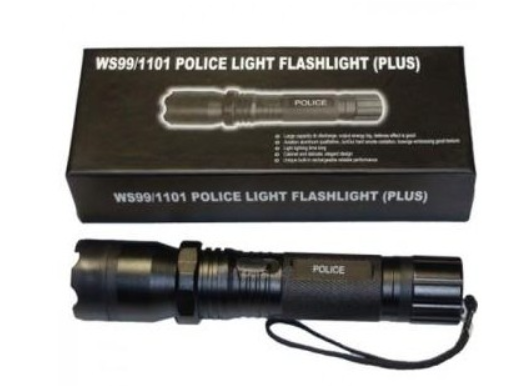 Фонарь-электрошокер Police 1101